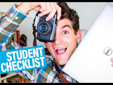 Graphic Design Student Supplies and Gear Checklist