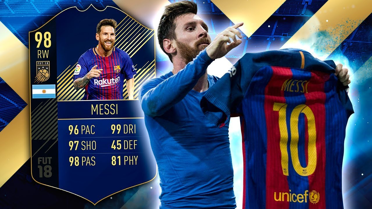 Toty Messi  Better Than Toty Ronaldo Fifa  Ultimate Team