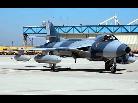 HAWKER HUNTER MK-58 Point Mugu Naval Base Airshow 2015