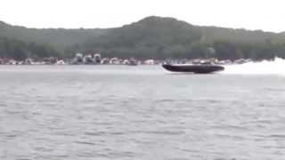 Outerlimits Racing Catamaran Crash