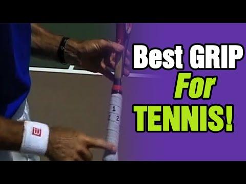 Tennis - The Best Grip For Tennis Serve | Tom Avery Tennis 239.592.5920