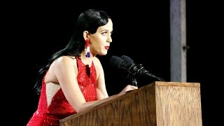 Katy Perry speech at Election Day (Nov. 8, 2016)