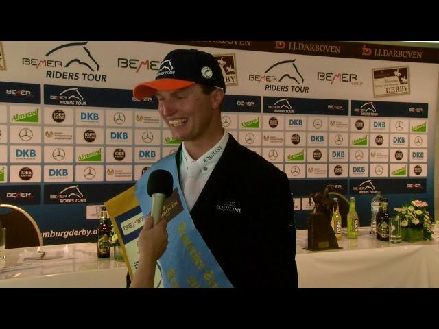 Nisse Lüneburg -  Sieger 3  Etappe BEMER Riders Tour