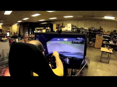 Force Dynamics 401cr motion simulator - Dirt Rally