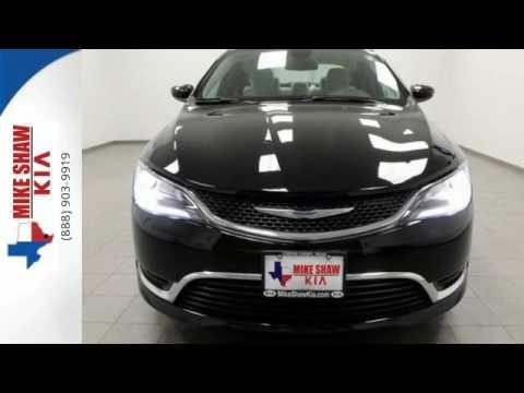 Used 2015 Chrysler 200 Corpus Christi TX Portland, TX #P3439 · Mike Shaw Kia