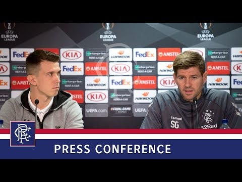 PRESS CONFERENCE | Gerrard & Jack | 24 Oct 2018