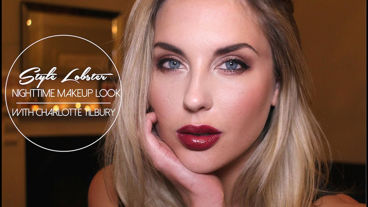 How To: Sexy Nighttime Makeup with Charlotte Tilbury ...