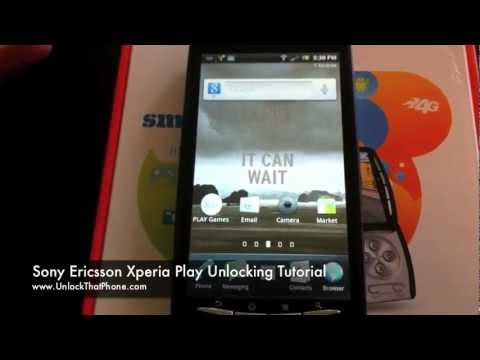 How to Unlock Sony Ericsson Xperia Play with Code + Full Unlocking Tutorial!! at&t tmobile o2 rogers