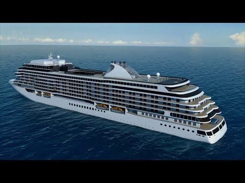 Building The World's Most Luxurious Cruise Ship | Full HD