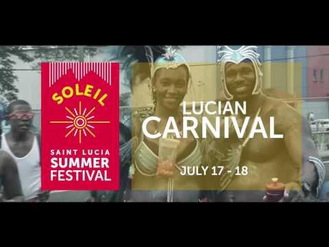 Soleil Saint Lucia Summer Festival 2017 HD