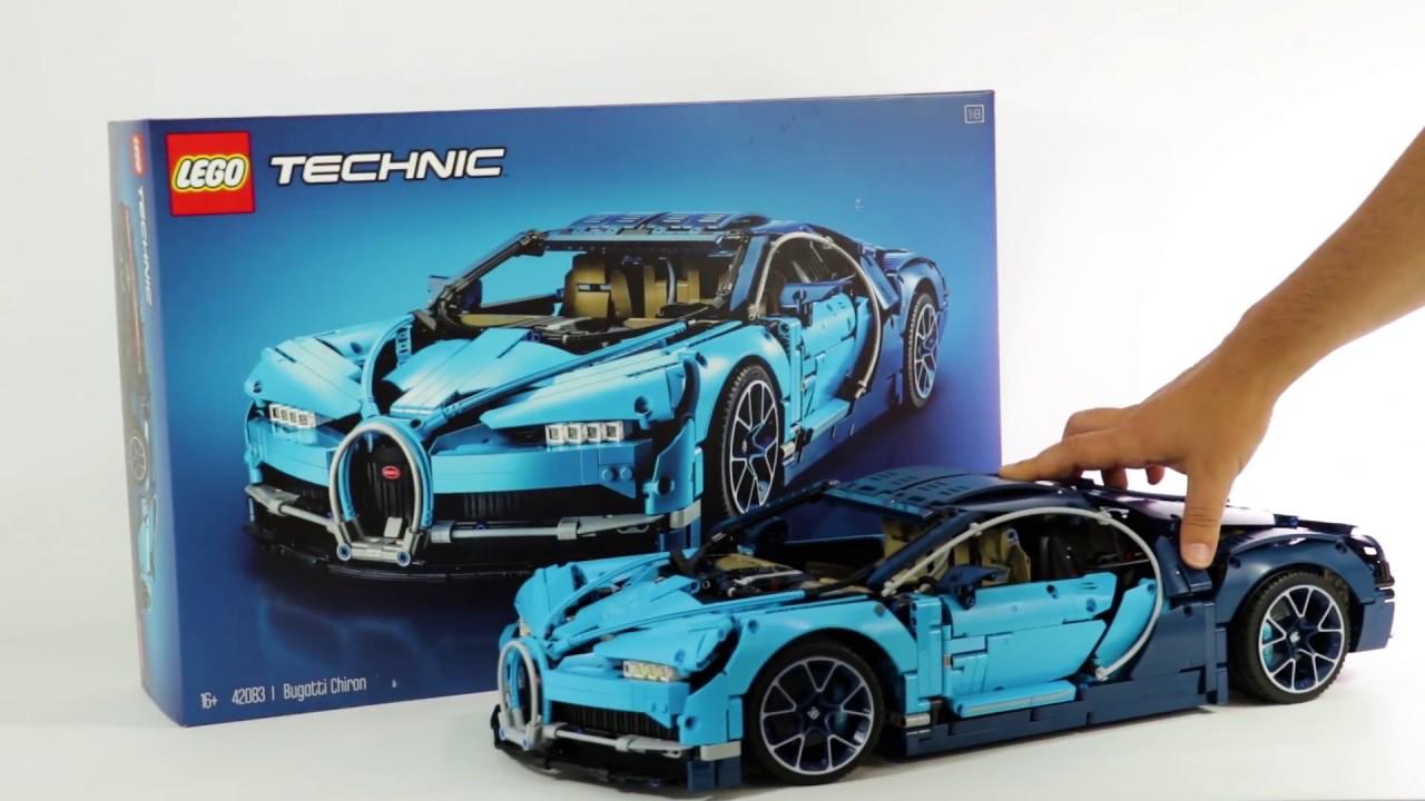 bugatti chiron lego technic 42083 youtube. Black Bedroom Furniture Sets. Home Design Ideas