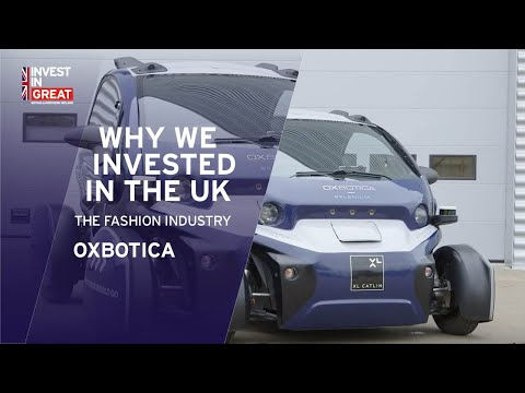 Why we invested in the UK – Oxbotica