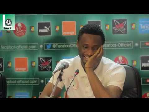 Cameroon v Nigeria - post match press conference