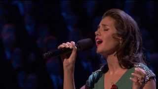 Katie Melua Performing I Will Be There At The RBL Festival Of Remembrance 09 11 2013