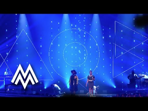 Naughty Boy FT Arrow Benjamin & Shezar | 'Runnin' (Lose It All)' live at MOBO Awards | 2015 | MOBO