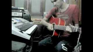 Ye Sham Mastani - kishore kumar - guitar cover