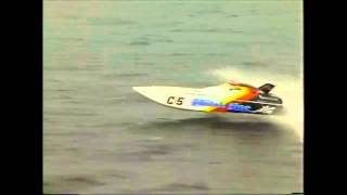 Finishline offshore powerboat racing
