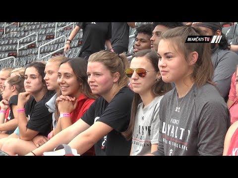 Cincinnati Women's Soccer On The Excitement of USWNT in Nippert Stadium