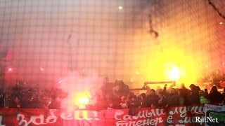 Derby: Spartak and CSKA  / Фанаты Спартака и ЦСКА на дерби