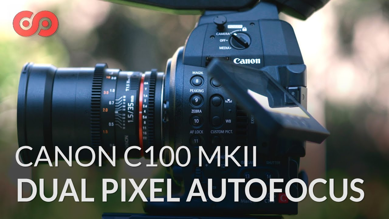 How to Use the Autofocus on the Canon C100 MKII