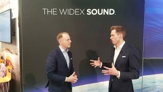 Widex EVOKE with SoundSounse Learn - Machine learning hearing aids - #AAAConf19