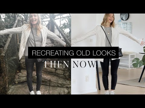 10 basic looks I wore then and would wear now | Re-creating old looks