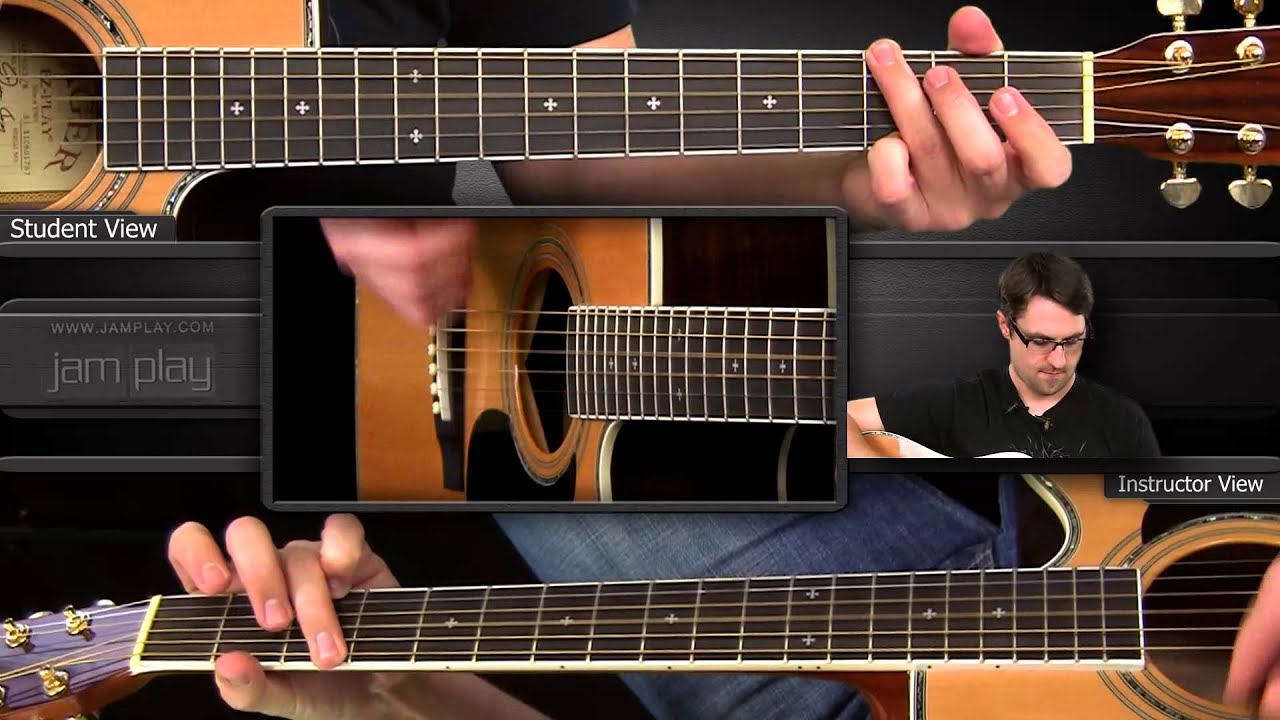 John Prine Angel From Montgomery Guitar Lesson Youtube