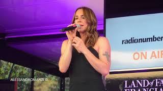 Melanie C Never Be The Same Again - Live Italy 16.6.2018.