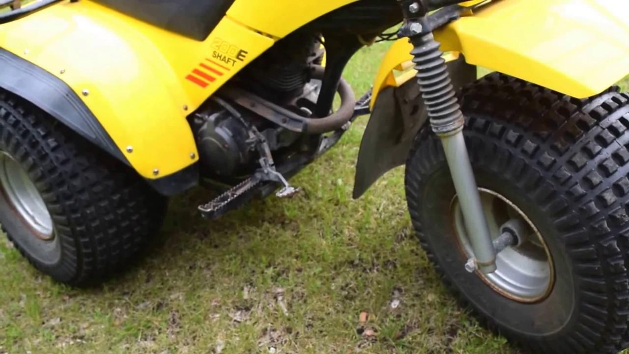 1984 yamaha 200e 3 wheel atv youtube for Yamaha 200e 3 wheeler