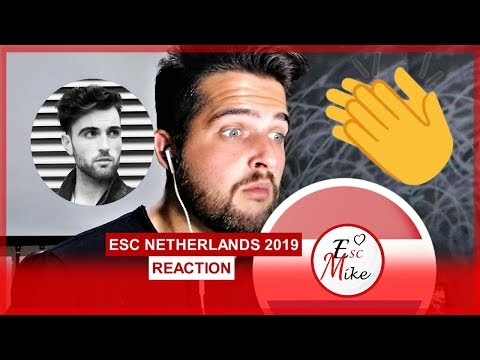 Eurovision The Netherlands 2019 - REACTION [Duncan Laurence - Arcade]