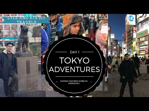 PINOY DIY Travelers :  Tokyo Adventures - Day 1 - NIPPON