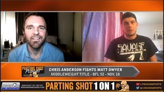 "BFL 52's Chris ""Bukwas"" Anderson talks title defence against UFC vet Matt Dwyer"