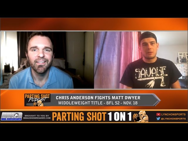 "BFL 52's Chris ""Bukwas"" Anderson talks title defence against UFC vet Matt Dwyer"