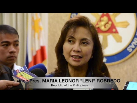Robredo says too much politicking will lead us nowhere