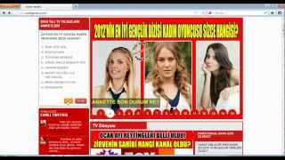 How To Vote For Hazal Kaya IN AYAKLI GAZETE 2013