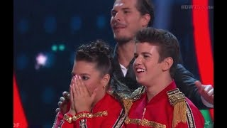 Mackenzie Ziegler & Sage Rosen - DWTS Juniors Episode 9 (Dancing with the Stars Juniors)
