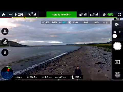 Dji Phantom 3 lost signal & return to home activated