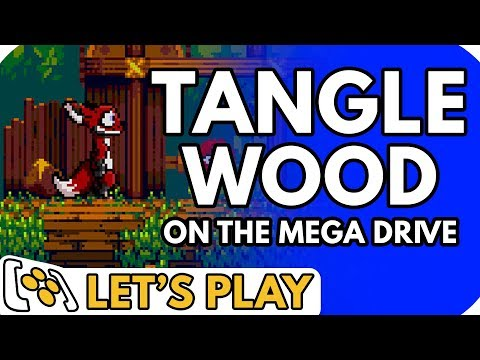 Tanglewood | A New Mega Drive Game! - Let's Play