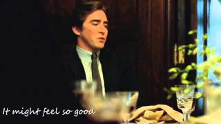 Lee Pace / MV:If I had you