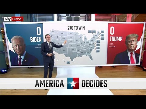 US Election: Why are some states key to winning the presidency?