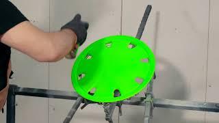 Эмаль флуоресцентная | Подробная видеоинструкция | KUDO KU-120x