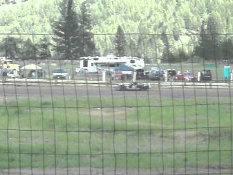 Eagle Track Raceway Grant Powers Time In May 31st 2014