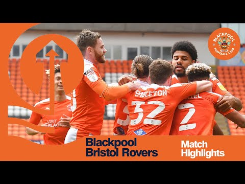 Blackpool Bristol Rovers Goals And Highlights