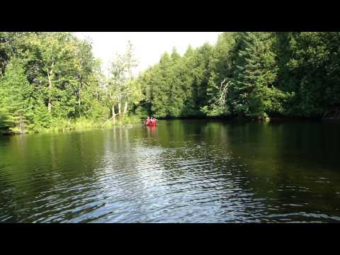 Canoeing in Indian River - Warsaw Caves Conservation Area
