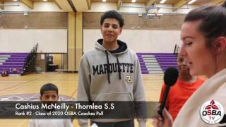 Cashius McNeilly's Brothers Make an Appearance Post Game