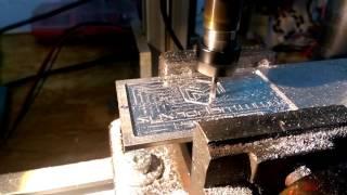 Aluminium Milling CNC Repetier Marlin Arduino