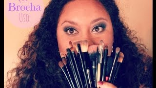 Que Brochas Uso?? -CoastalScents 22brushes set review-