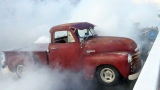 73-Car Burnout & Day 7 of HOT ROD Power Tour! - Chattanooga, TN to Concord, NC