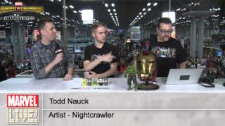 Todd Nauck Talks Nightcrawler and Working With a Living Legend at New York Comic Con 2014