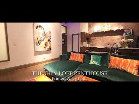 THE CITY LOFT PENTHOUSE - Nashville Vacation Rentals